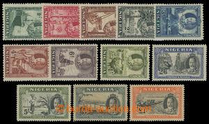 200145 - 1936 SG.34-45, Jiří V.  krajinky 1/2-1£; bezvadná kvali