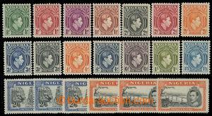 200146 - 1938 SG.46-59, včetně variant a,b,c; Jiří VI. portréty a kra