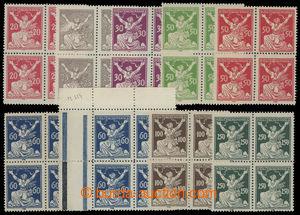 200198 -  Pof.151-153A, 155-158A, 161A, 157B, sestava 4-bloků s HZ 14
