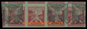 200425 - 1918 ZT Pof.NV2Mv, Sokol v letu 5h(!) zelená, 2-zn. stejnosm