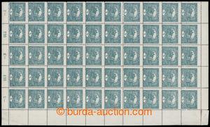 200560 -  Pof.4Cb, 5h tmavězelená s ŘZ 13¾, pravá polovina archu
