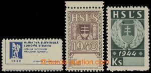 200627 - 1939-1944 STRANICKĚ ZNÁMKY  Hlinkova Slovenská lidová strana
