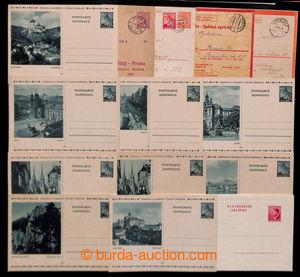 200691 - 1939-1944 sestava 9ks nepoužitých obrazových dopisnic CDV6/3