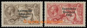 200700 - 1925-1928 FREE STATE / SG.83-84, anglické Jiří V. 2Sh/6P a 5