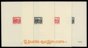 200732 - 1968 PT5Aa+b a PT5Ba+b, Hradčany 10h černá a 10h červená, ko