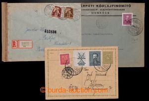 200754 - 1938-1944 sestava 3ks celistvostí, čs. dopisnice Znak 50h do
