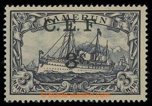 200785 - 1915 CAMEROONS EXPEDITIONARY FORCE  SG.B12a, Císařská jachta