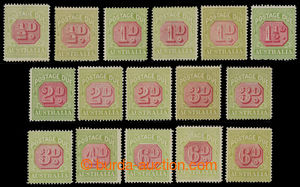 200803 - 1922-1930 DOPLATNÍ  SG.D91-D97, Číslicové vydání ½P - 6