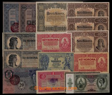 200806 - 1848-1946 HUNGARY  selection of 64 pcs of bank-notes, mainly
