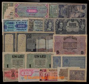 200815 - 1890-1978 NĚMECKO, RAKOUSKO, RUMUNSKO, POLSKO, HOLANDSKO, SE