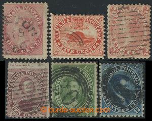 200839 - 1859 SG29, 31, 34, 39, 42, 44, kompletní série, hodnota 10C