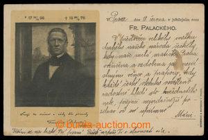 200899 - 1898 PALACKÝ František (1798-1876), pohlednice vydaná ke 100