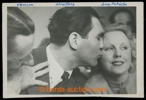 200904 - 1935 BURIAN Vlasta (1891–1962), slavný český herec + SCHMELL