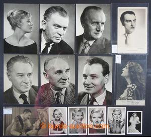 200911 - 1900-1950 [SBÍRKY]  sbírka 152ks především portrétních fotop
