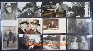 200913 - 1920-1950 [SBÍRKY]  sbírka 250ks pohlednic významných předev