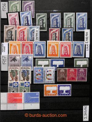 200924 - 1956-1974 [SBÍRKY]  EUROPA / CEPT  velmi pěkná kompletní sbí