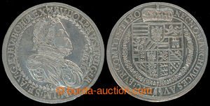 201003 - 1611 RUDOLF II. (1576–1611), 1 Tolar - Zlatník, 1611, mint H