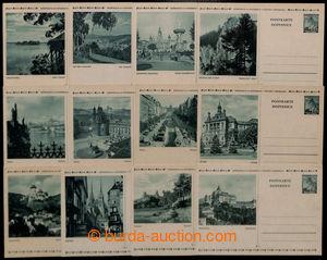 201065 - 1939 CDV6/1-12, Lipová ratolest, kompletní, včetně Südböhmen