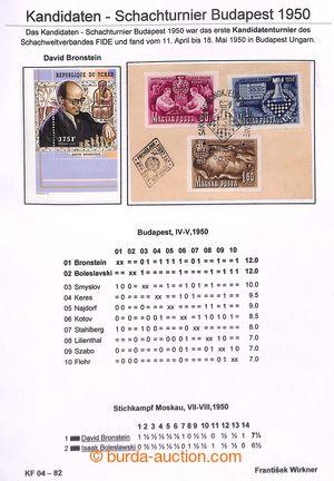201123 - 1950 [SBÍRKY]  ŠACHY / MAĎARSKO / Šachový turnaj Budapešť 19