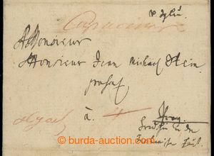 201131 - 1774 ČESKÉ ZEMĚ  / skládaný dopis zaslaný z Jihlavy do Prahy