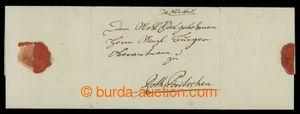 201132 - 1797 ČESKÉ ZEMĚ / skládaný dopis zaslaný z Klatov do Červené