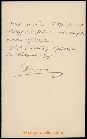 201134 - 1900? FRANTIŠEK JOSEF I. (1830-1916), rakouský císař, český