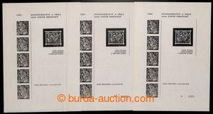 201272 - 1971 PT8a, b, c, Hospodářství a věda, kompletní sestava PT -