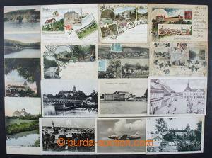 201327 - 1900-1950 [SBÍRKY]  sestava 18ks pohlednic, obsahuje i někol