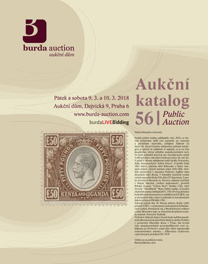 201346 - 2018 BURDA AUCTION s.r.o., catalogue Aukce 56, part I., colo