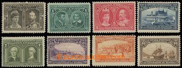 202482 - 1908 SG.188-195, 300. Anniv Quebecku, complete set; hinged,