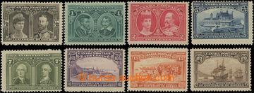 202759 - 1908 SG.188-195, 300. Anniv of Quebeck, complete set; hinged
