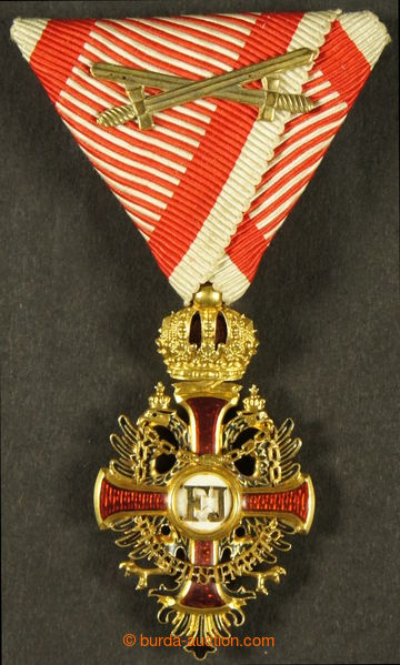202966 - 1849 Order Franz Joseph I., F.J.O. 1849 with military ribbon