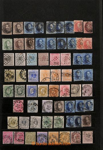 203159 - 1849-1950 [COLLECTIONS]  fine basic collection in album A4,