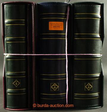 203315 -  stockbooks for entires Leuchtturm, 3 pcs of - 2x wider bind