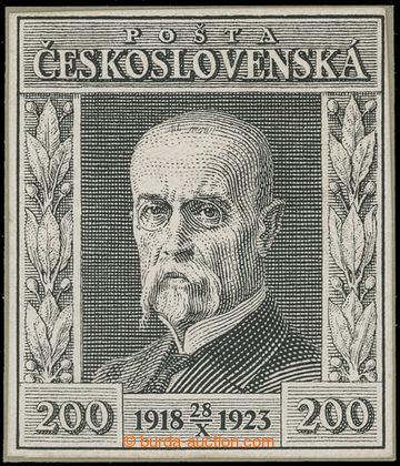 203367 - 1923 ZT - Návrh - Jubilejní, hodnota 200h s letopočtem, velk