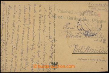 203381 - 1918 VALAŠSKÁ SETNINA č.2/ NÁRODNÍ GARDY V MOR. OSTRAVĚ, mod