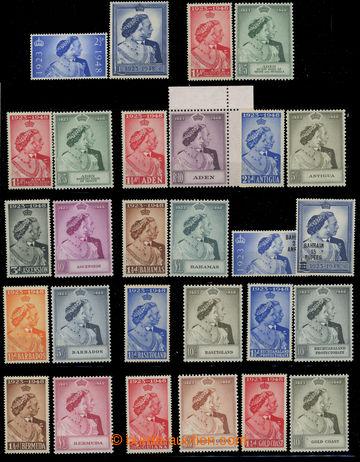 203526 - 1948-1949 OMNIBUS / Stříbrná svatba / Royal Silver Wedding;