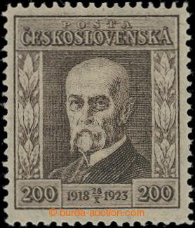 203694 - 1923 ZT Jubilejní 200h měditisk v hnědé barvě s velkým letop