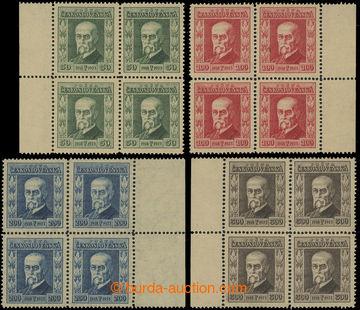 203819 - 1923 Pof.176-179, Jubilejní 50h-300h, kompletní série ve 4-b
