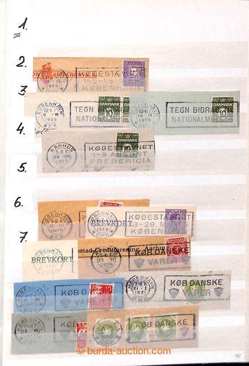 203976 - 1924-1997 [COLLECTIONS]  MACHINE POSTMARKS (TEKST MASKINSTEM