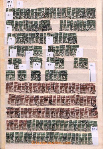203977 - 1905-1926 [SBÍRKY]  AFA 64-80, Číslicová vydání (vlnovky) /