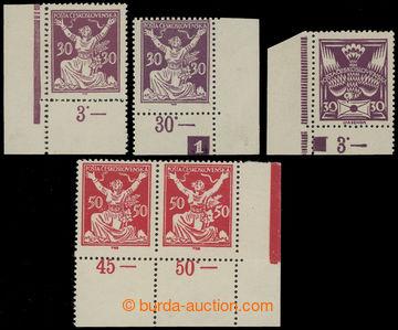 204492 -  sestava 3ks s DČ: 30h fialová 1x s DČ 1 a 1x 3 vrypy v ochr