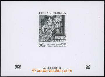 204539 - 2015 Art 2015 - Bohumír Matal, black print, very low ordinal