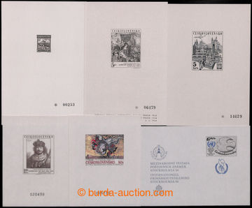 204545 - 1968-1988 comp. 6 pcs of various commemorative prints, conta