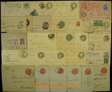 204673 - 1890-1940 [SBÍRKY]  sestava 40ks celin a dopisů, část adreso