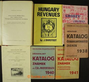 204697 - 1938-2000 SESTAVA / 10ks literatury: katalogy Tribuna filate