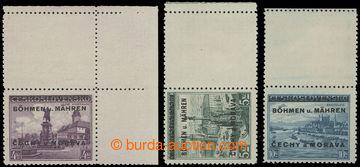 204846 - 1939 Pof.17KHp, Poděbrady 4Kč, upper right corner piece with