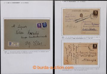 204857 - 1942-1943 [SBÍRKY]  ITALSKÉ KONCENTRAČNÍ TÁBORY V ALBÁ