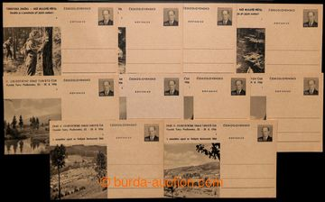 204869 - 1956- CDV128/1-6 + CDV128/1-4, Sraz turistů a Turistická ste