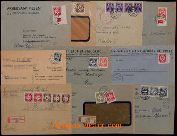 204957 - 1941-1945 selection of 25 entires with Official I. and II.,